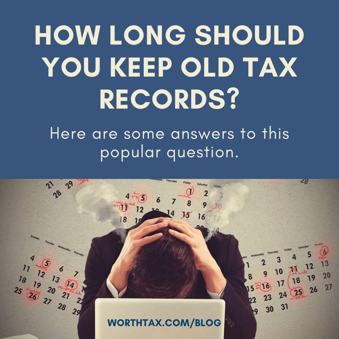 tax records - Worthtax