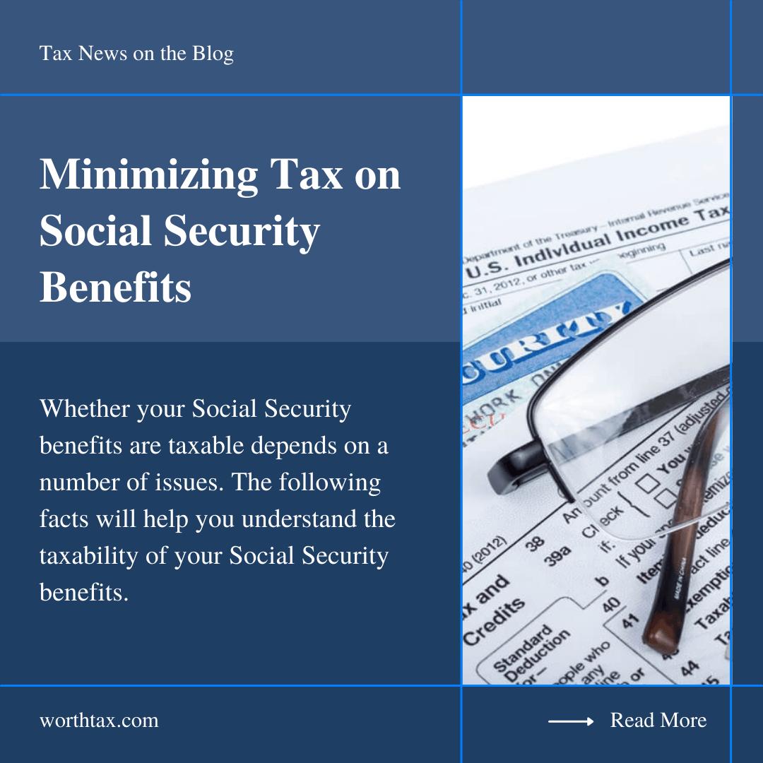 Social Security Benefits - WorthTax